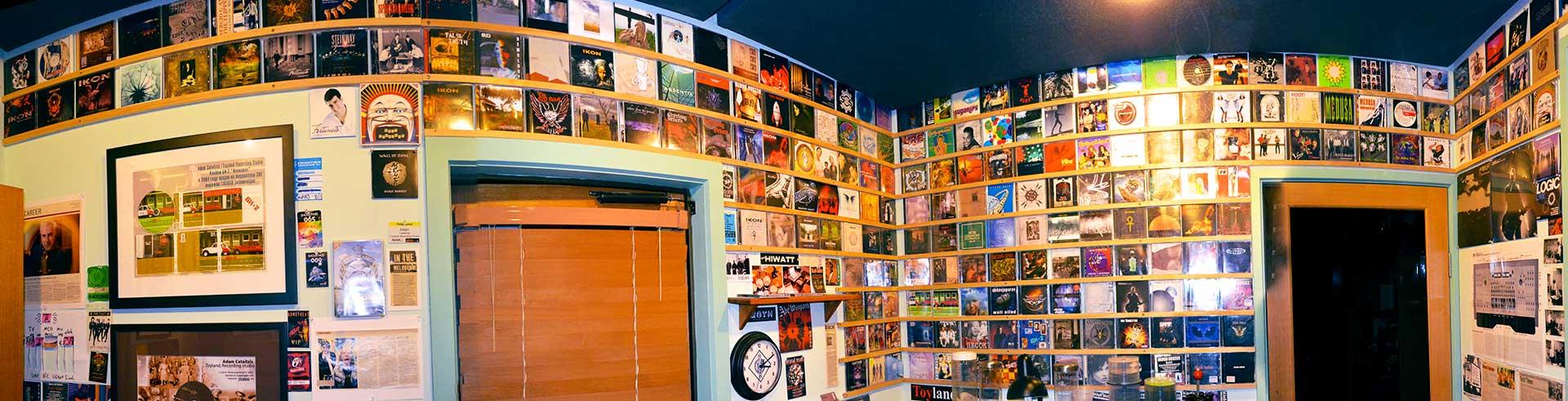 Toyland Recording Studio Melbourne CD room