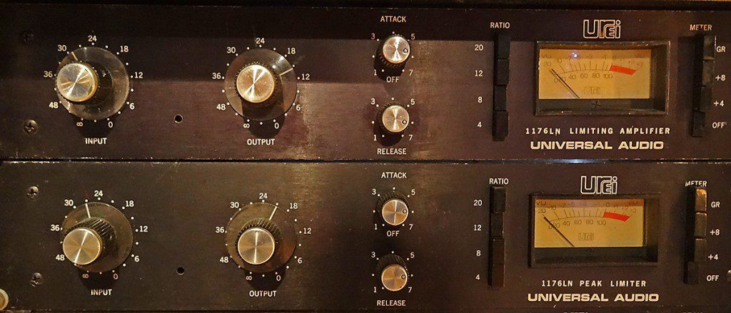 Urei 1176 at Toyland Recording Studio Melbourne