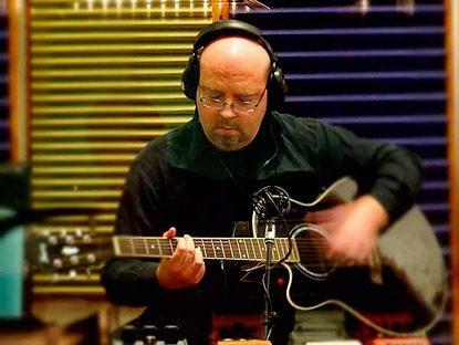 Chris McCarter of IKON recording at Toyland Recording Studio
