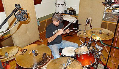 Drum Recording at Toyland Studios
