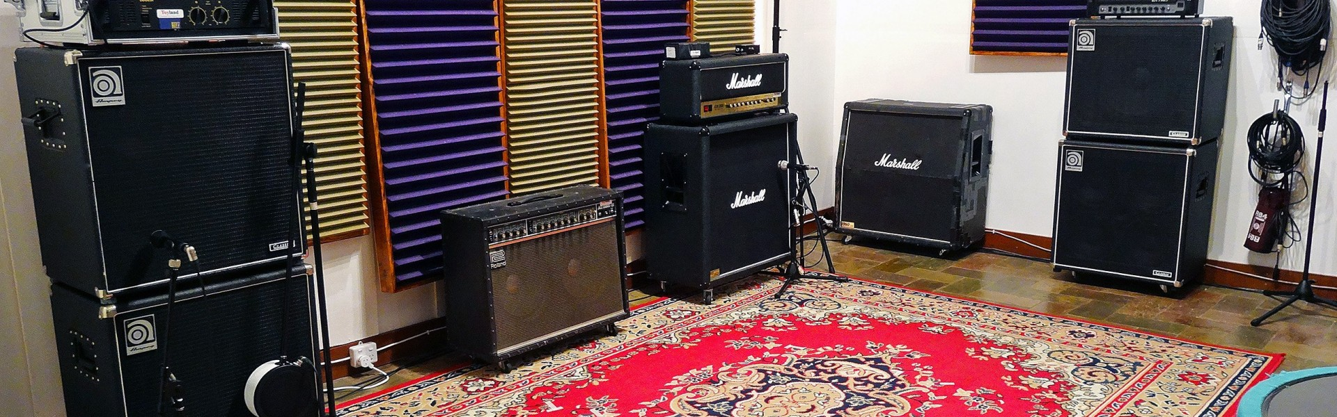 Amps at Toyland Recording Studio