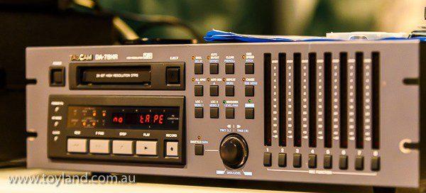 Tascam DA78HR at www.toyland.com.au
